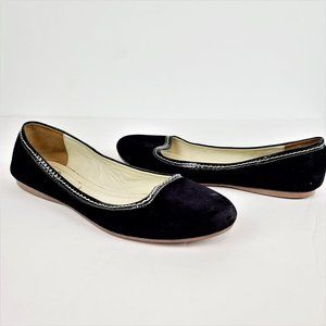 Brooks Brothers Flats Sz 6.5M Blue Suede